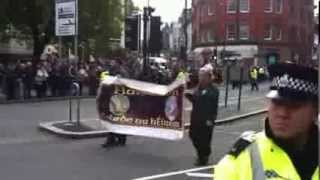 Irish Republican march through Liverpool