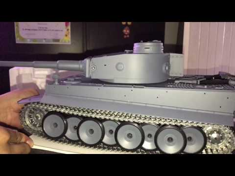 Heng Long 1/16 Scale German Tiger 1 RC Tank Unboxing And Quick Look