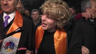 Ռուզաննա Խաչատրյանն ամուսնու հետ թևանցուկ մասնակցեց ՕՐՕ ի երթին
