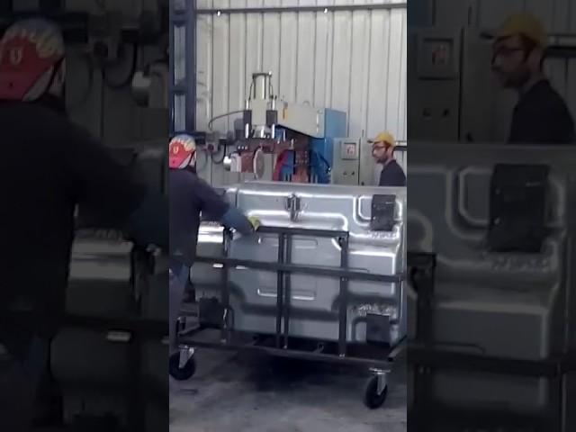 Sağlam Makina - İşe Özel Çöp Konteyneri Dikiş Kaynak Makinesi