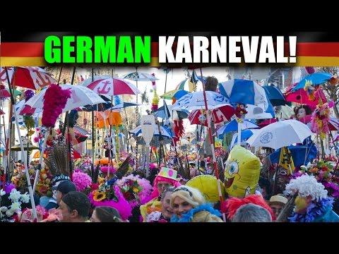 Life In Germany | How Do Germans Celebrate Carnival? - Karneval! 🎉 | VlogDave