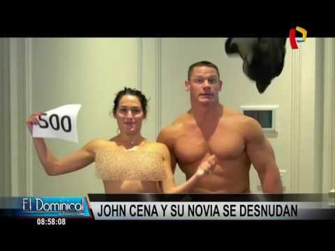 John Cena y Nikki Bella se desnudan en Youtube   EL DEBER