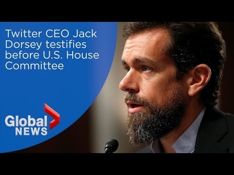 Twitter CEO Jack Dorsey testifies before U.S. House Committee