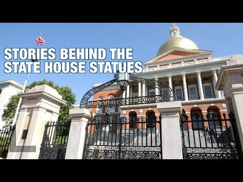 Boston History Project: Stories Behind Mass. State House Statues
