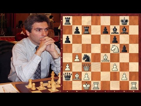 Akopian's Immortal Rook Sacrifice vs. Vladimir Kramnik