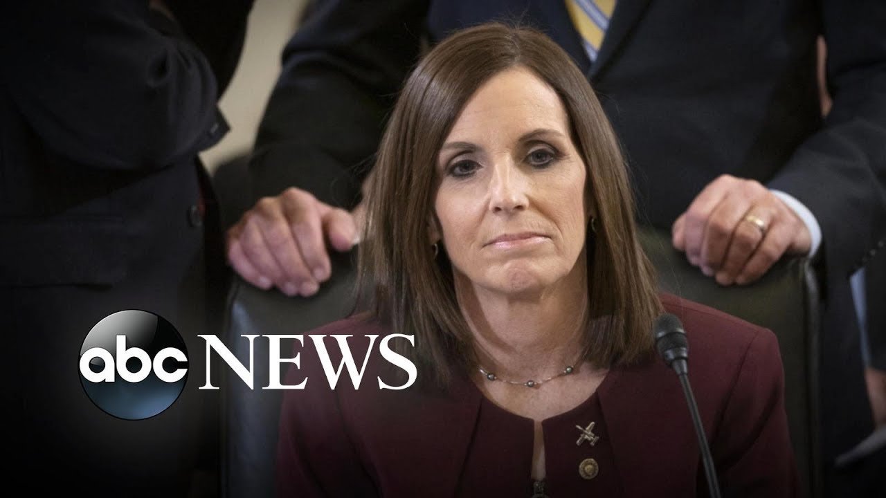Martha McSally Says She Is a Survivor of Sexual Assault in the Military