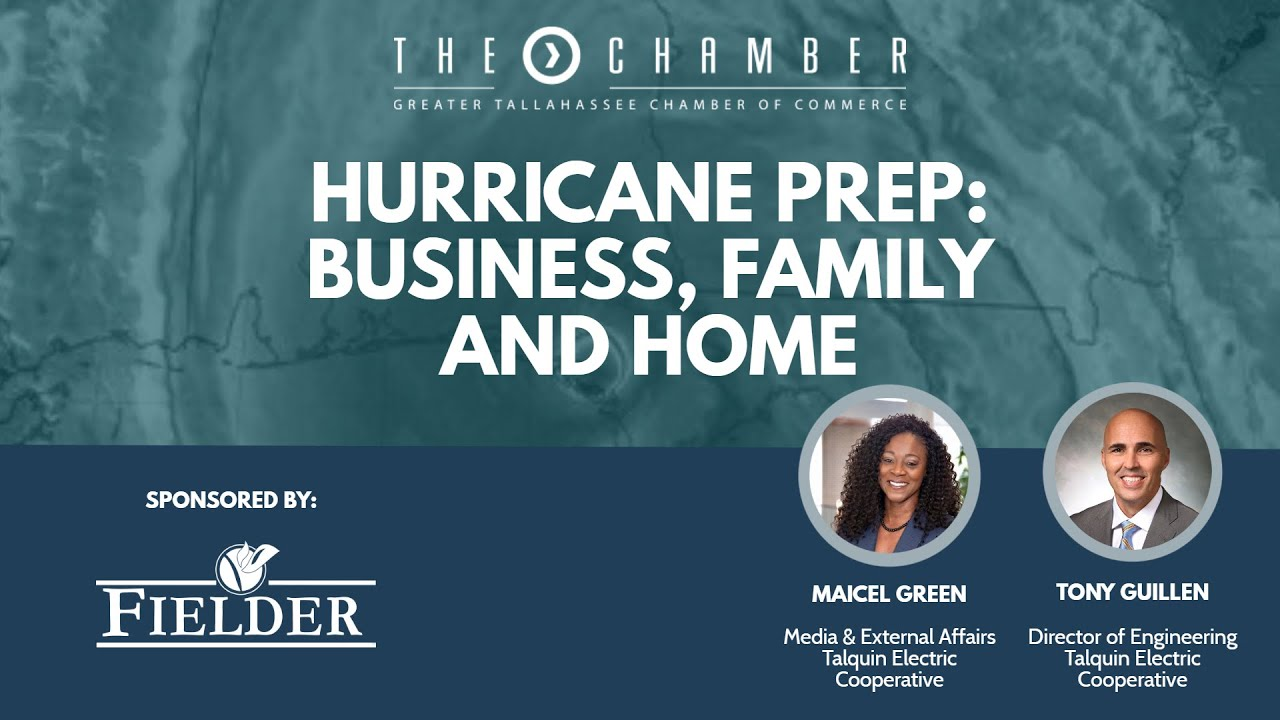 Hurricane Prep For Your Business Family And Home Youtube Better manage your talquin utilities with the talquin app! youtube