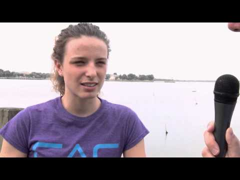 IFSC Climbing World Cup Wujiang 2014 - Interview with Anak Verhoeven