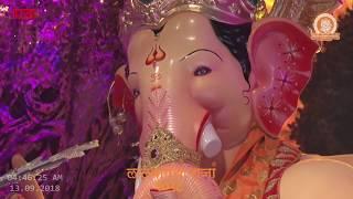 LALBAUGCHA RAJA Inaugural Pratishthapana Pooja Live  | 13 th September 2018