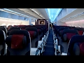 Onboard Qatar Airways Airbus A350-900 Flight QR59 MUC-DOH Munich to Doha