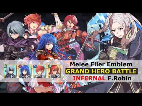 [FEH] Melee Flier Emblem Takes On F.Robin...