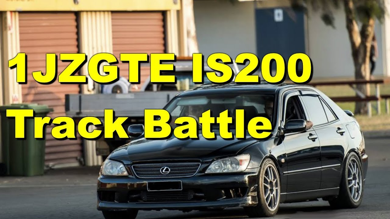 1JZGTE Swap Lexus IS200 Roll Racing Track Battle - 2JZ, Turbo LS, Ford  Barra and MORE