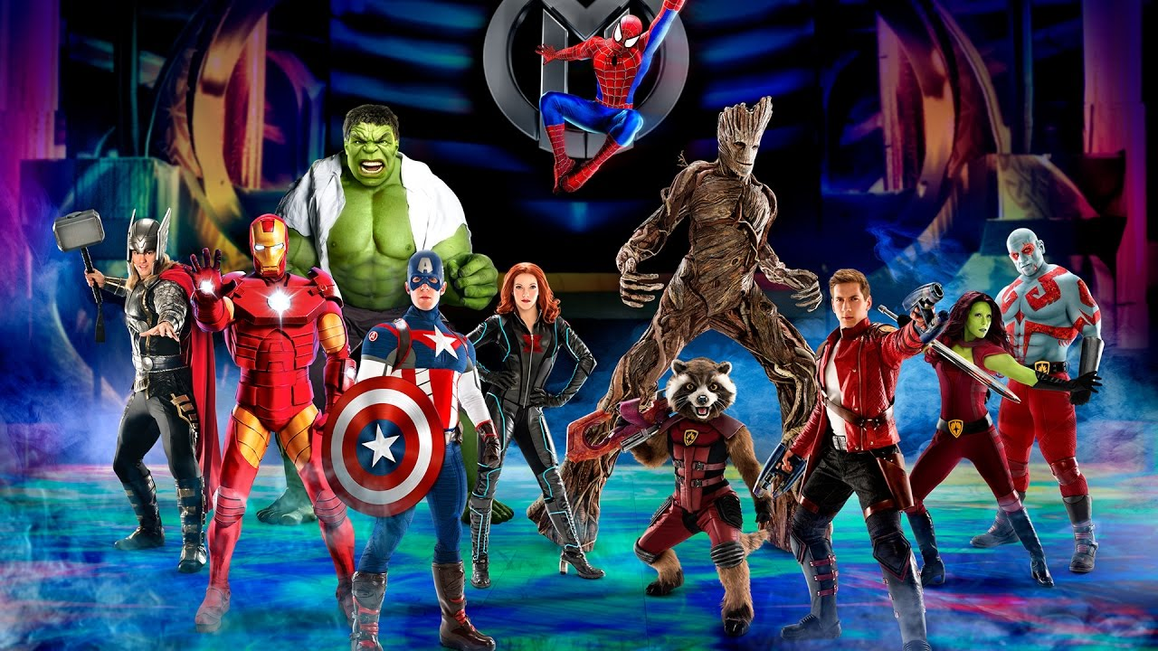Marvel Malvorlagen Marvel Superhero The Marvel Super: Marvel Universe LIVE! Announces New Show Age Of Heroes