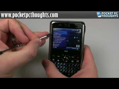 UNBOXING: HP iPAQ 910 Business Messenger [HD]