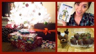 Gift Wrapping & Christmas Movies! Vlogmas 18, 2013 - Thatshearttv