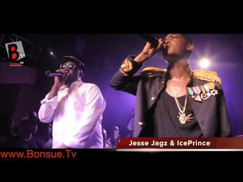 Download Video: JESSE JAGZ and ICE PRINCE Perform #JAGALOVE for the 1st TIME at INDUSTRY NITE with jesse jagz