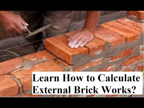 What is the Unit And How to Calculate Partition Walls Brick work? I Best Quantity Survey Training Uk
