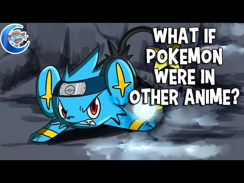 What if Pokemon were in other anime?