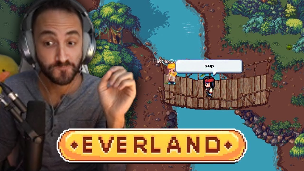 I hired viewers from Twitch Chat to make my game Everland (this is the result)