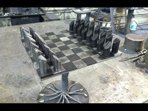 The Coolest Chess Set Ever