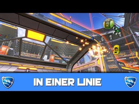 In EINER Linie 🚀 Rocket League German Gameplay thumbnail