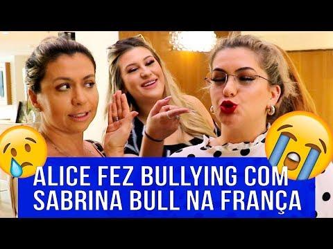 Alice Salazar fez Bullying comigo  Sabrina Bull