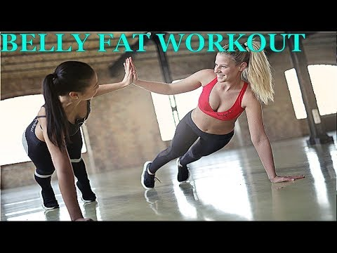 Best Home Workout -Flat Belly Exercises –  How To Lose Stubborn Belly Fat After Baby For Women