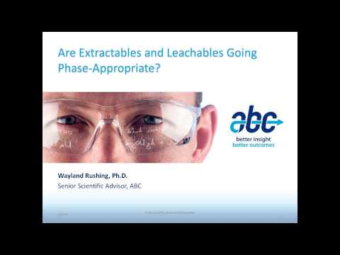are-extractables-and-leachables-going-phase-appropriate?-(part-1)