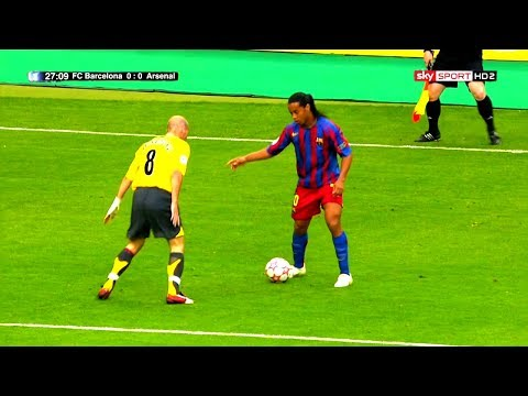 50+ Players Humiliated by Ronaldinho ᴴᴰ