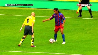 50+ Players Humiliated by Ronaldinho ᴴᴰ
