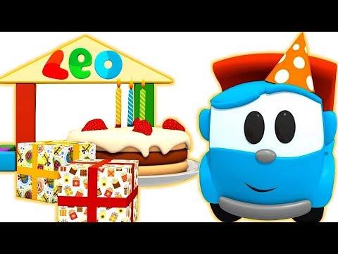 Leo El Pequeño Camión Episodios Completos - La Fiesta De Cumpleaños