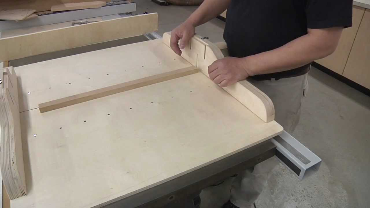 5 Cuts To A Perfect Cross Cut Sled Youtube