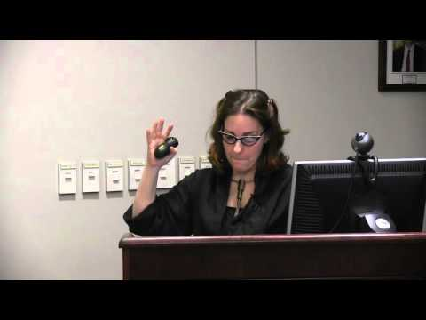 Arielle Saiber - Penn State's Comparative Literature Luncheon Series (3/21/16)