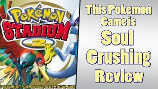 Pokemon Stadium 2 is THE MOST Difficult Pokemon GAME