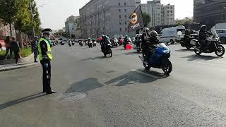 Москва. Мото парад в честь закрытия мото сезона 26 сентября  2020!!!часть 2.