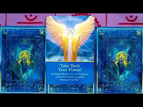 April 16 - 22, 2018 Weekly Angel Tarot & Oracle Card Reading
