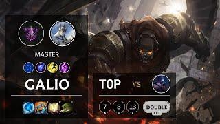 Galio Top vs Jax - EUW Master Patch 10.14