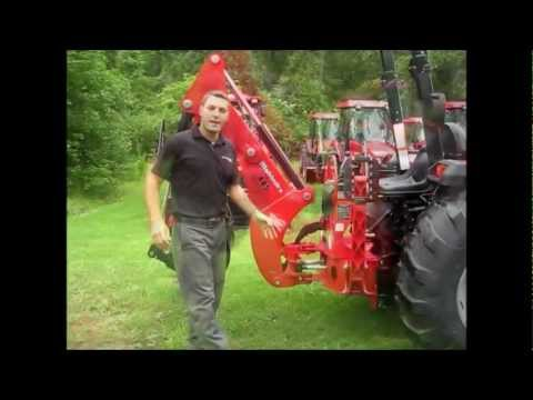 How to remove a backhoe from a Mahindra Tractor Mahindra Xl Tractor Wiring Diagram on