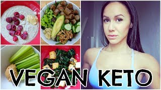 WHAT I EAT VEGAN KETO | HIGH FAT LOW CARB DIET