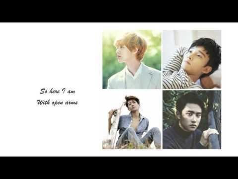 EXO (LuHan, Chen, BaekHyun & D.O.) - Open Arms (Lyrics + Picture + Color Coded)