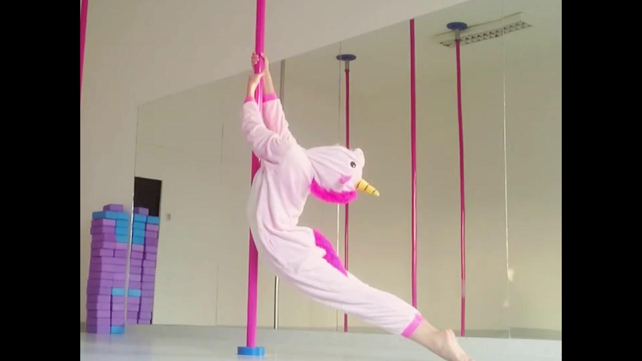 pole dance unicorn