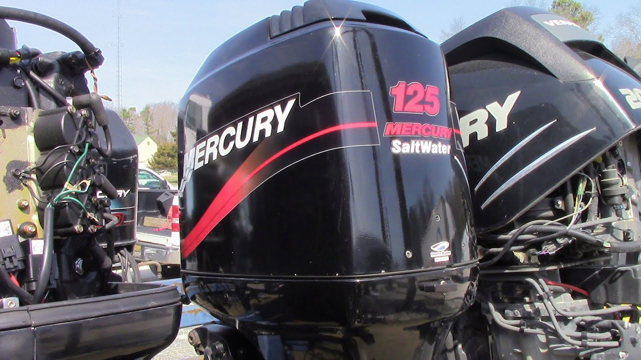 6m5207 used 2000 mercury 125xlpto 125hp 2 stroke outboard for 2 2 mercury outboard motor