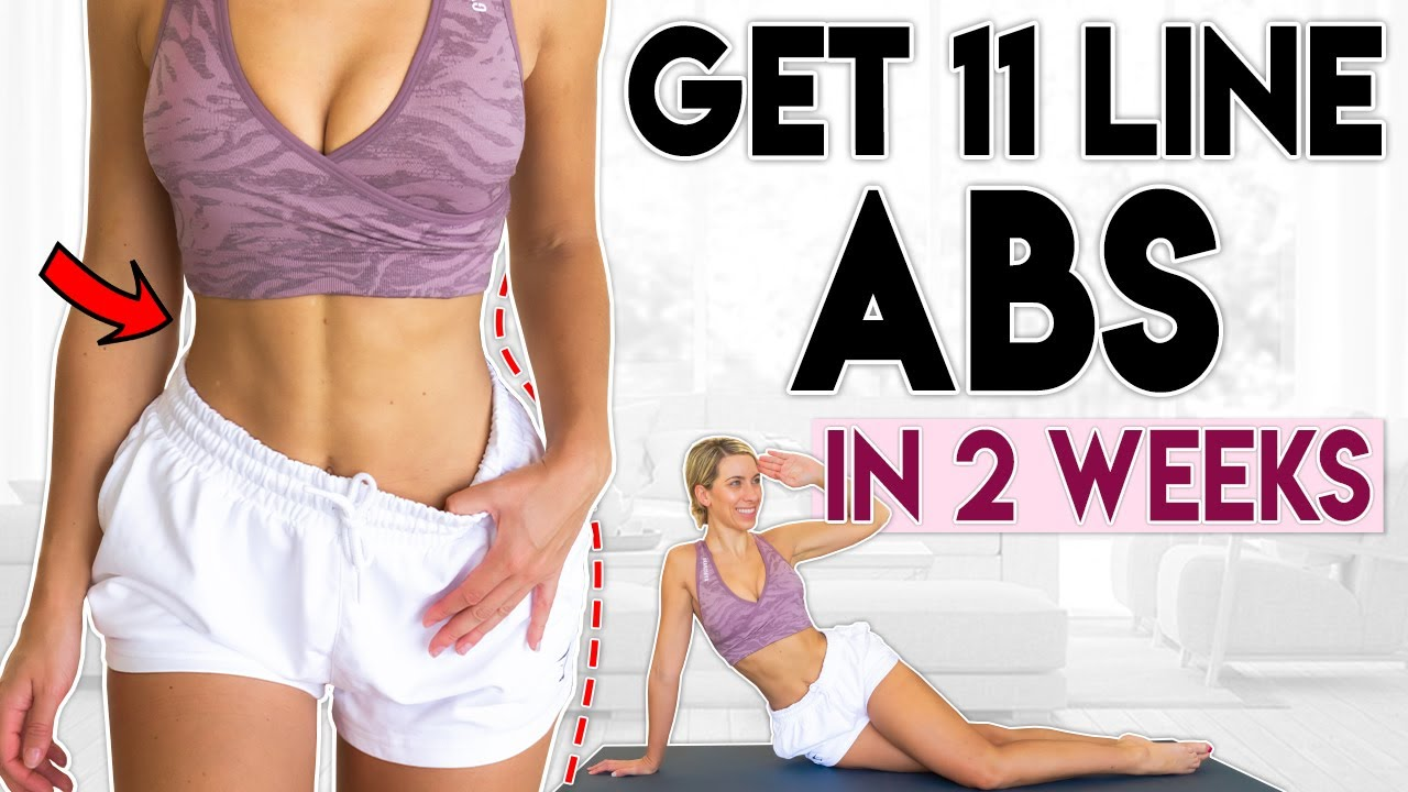 11 LINE ABS in 2 Weeks | 7 minute Home Workout