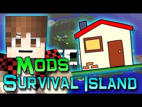 Minecraft: Survival Island Mods Ep. 7 - House Work!