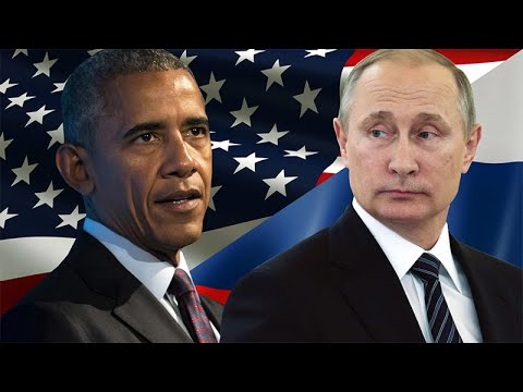 Американцы сравнивают Путина и Обаму с медведем и котенком.