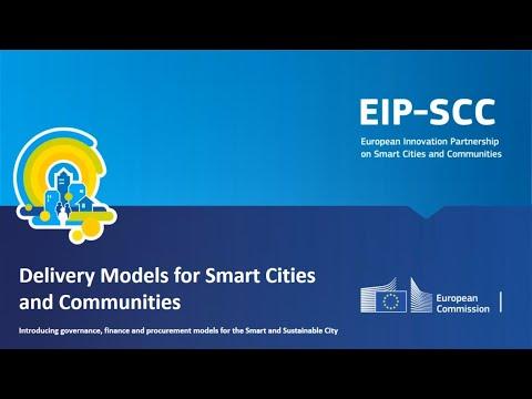 EIP-SCC Webinar: Delivery models, funding & procurement for smart cities