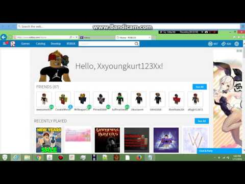 How to hack roblox accounts