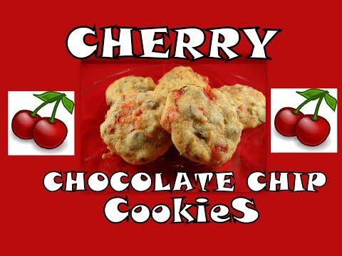 Cherry Chocolate Chip Cookies- With Yoyomax12