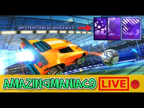 The Most Insane Rocket League Giveaway And Crate Opening (PS4, PC, Xbox) Insane Sub Games And Trades