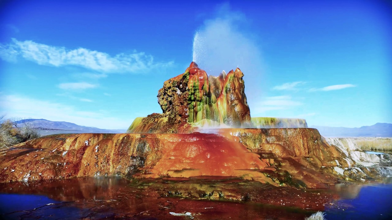 fly geyser Watch video fly geyser is located by the black rock desert in northern nevada where the famous burning man festival is held every year it's a.